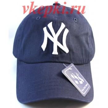 Бейсболка Нью Йорк синяя