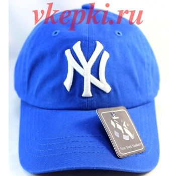 Кепка Нью Йорк голубая