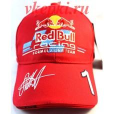 Кепка Red Bull красная Арт.176