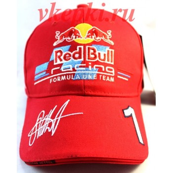 Кепка Red Bull красная