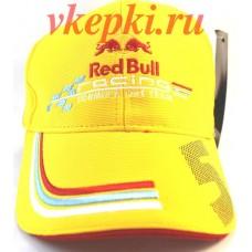 Кепка Red Bull желтая арт.404