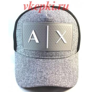 Кепка Armani Exchange серого цвета