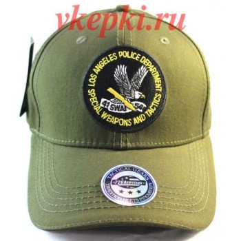 Тактическая кепка Los Angeles Police Department цвета хаки