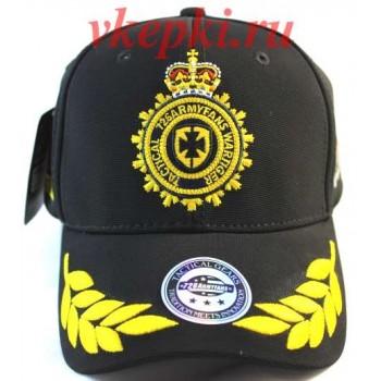 Тактическая кепка черного цвета