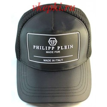 Кепка Philipp Plein черный цвет