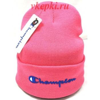 Шапка Champion розовая