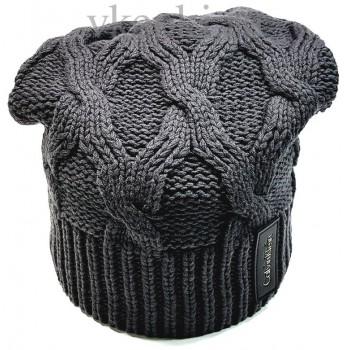Шапка Calvin Klein серого цвета