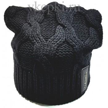 Шапка Calvin Klein черного цвета