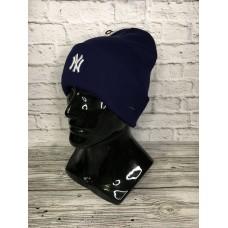 Шапка New York синяя арт.4582