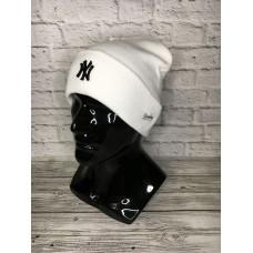 Шапка New York белая арт.4584