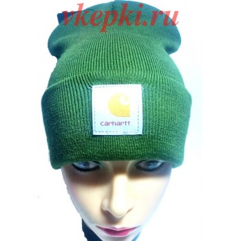 Шапка Carhartt зеленая