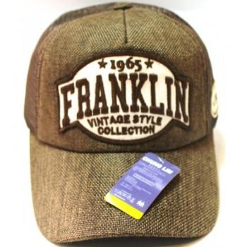 Кепка Franklin коричневого цвета