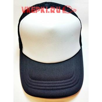 Черная кепка с сеткой