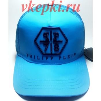 Бейсболка Philipp Plein голубая