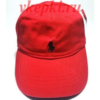 Бейсболка Polo Ralph Lauren красная