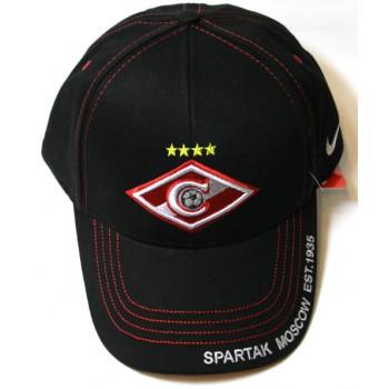 Кепка Спартак черная