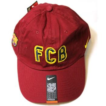 Кепка FCB бордовая