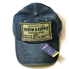 Кепка Джинсовая  Denim & Supply арт.448