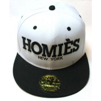 Кепка Homies черно-белая Арт.346