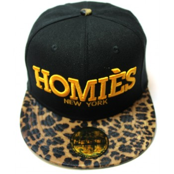 Кепка Homies леопардовая