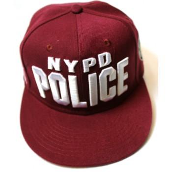 Кепка POLICE бордовая