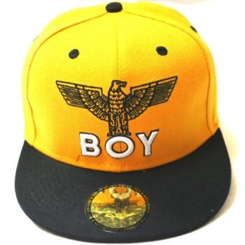 Бейсболка BOY желтая