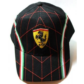 Кепка Ferrari черная