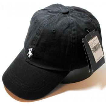 Бейсболка Ralph Lauren черного цвета