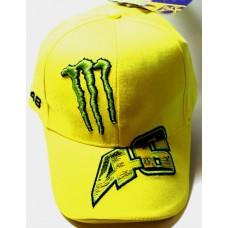 Кепка Monster 46 желтая арт.814