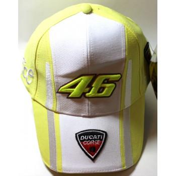 Бейсболка Ducati желтая