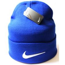Шапка Nike голубая арт.1038