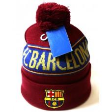 Шапка FC Barcelona бордовая арт.1063