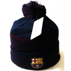 Шапка FC Barcelona темно-синяя арт.1067
