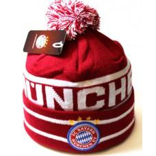 Шапка FC Bayern München красная арт.1069