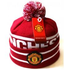 Шапка Manchester United красная арт.1071