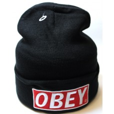 Шапка OBEY черная арт.1073