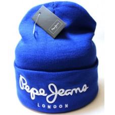 Шапка Pepe Jeans голубая арт.1081