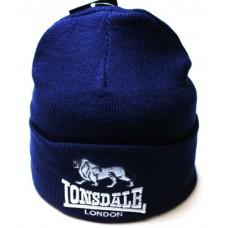 Шапка Lonsdale синяя арт.1099