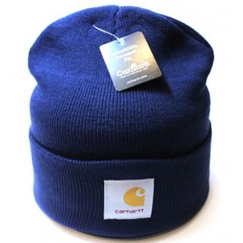 Шапка Carhartt синего цвета