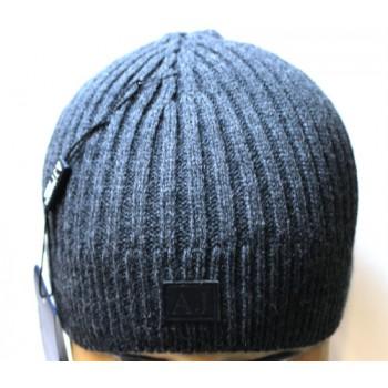 Шапка Armani Jeans серая арт.1152
