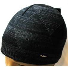 Шапка Ben Sherman черно-серая арт.1161
