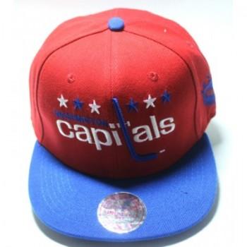 Кепка Washington Capitals с прямым козырьком арт.071