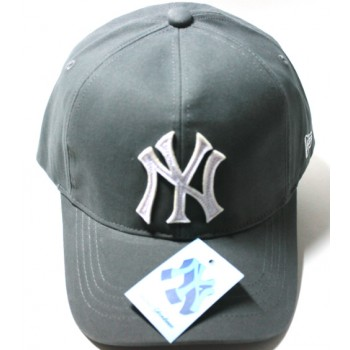 Бейсболка NEW YORK серая