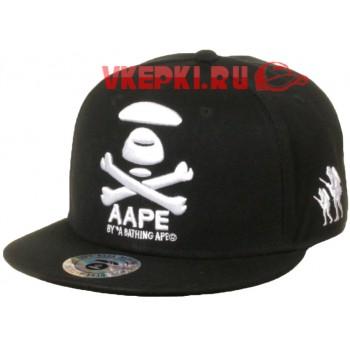 Черная кепка AAPE