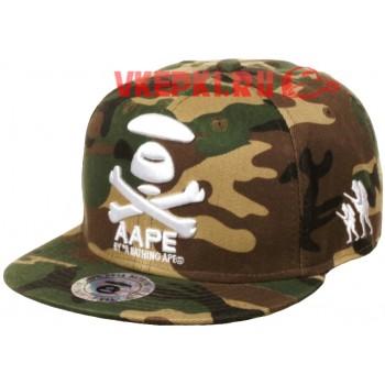 Кепка AAPE хаки