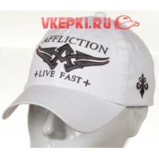 Кепка Affliction белая арт.1257