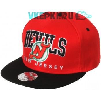 Кепка New Jersey Devils красно-черного цвета
