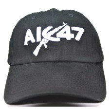 Кепка АК 47 черного цвета арт.893