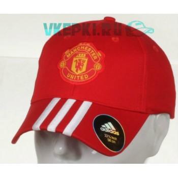Кепка Manchester United красный цвет арт.238