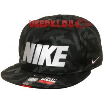Кепка Nike черно-серого цвета